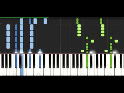 Alan Walker - Spectre - PIANO TUTORIAL (видео)