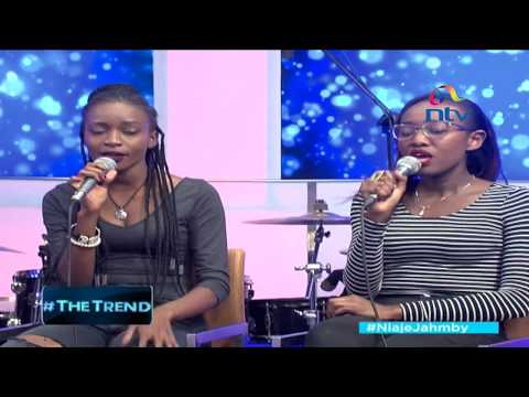 The band Beca performs 'Toka' #theTrend