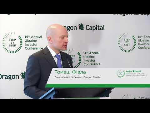 14-та конференція Dragon Capital. Вступне слово та вітальна промова