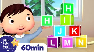 ABC School Song - Learn the Alphabet | +More Nursery Rhymes | ABCs and 123s | Little Baby Bum