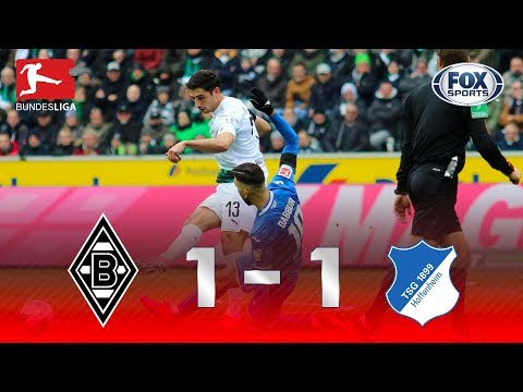 MAS O VAR TRABALHOU, HEIN? Veja os melhores momentos de Borussia Monchengladbach 1 x 1 Hoffenheim