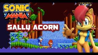 Sally Acorn in Sonic Mania