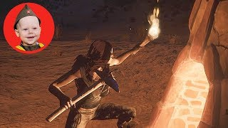 Conan Exiles (2018 PS4 Single Player): Scrubber Makes Iron (Episode 7)