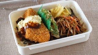 Noriben (Bento Lunch Box) ほっともっと風のり弁当を作ってみた♥ - OCHIKERON - CREATE EAT HAPPY