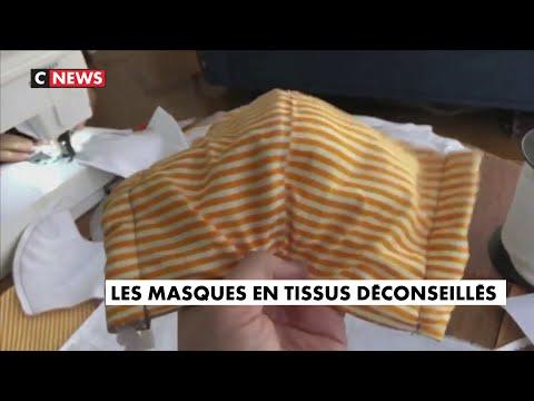 Les Français ont du mal à entendre que les masques en tissu sont désormais déconseillés Les Français ont du mal à entendre que les masques en tissu sont désormais déconseillés