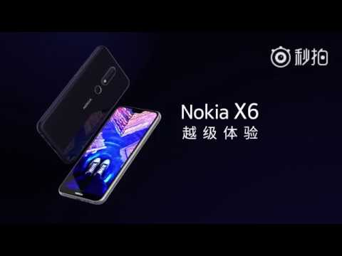 Nokia X6 Official Intro Video - Fullscreen Display. AI Photography (HD)