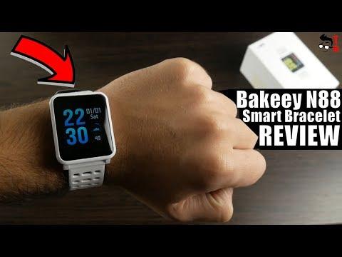 Bakeey N88 REVIEW & Unboxing: IP68 Blood Pressure Smart Bracelet