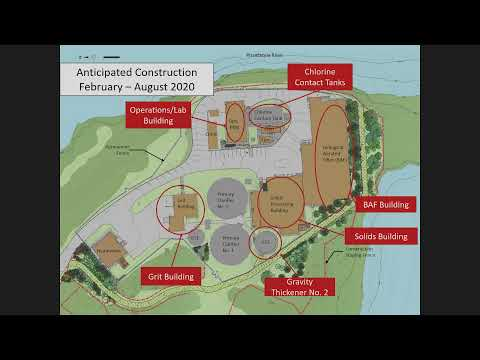 Peirce Island Waste Water Treatment Facility Upgrade 2.19.2020