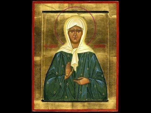 Самая сильная молитва Матроне Московской