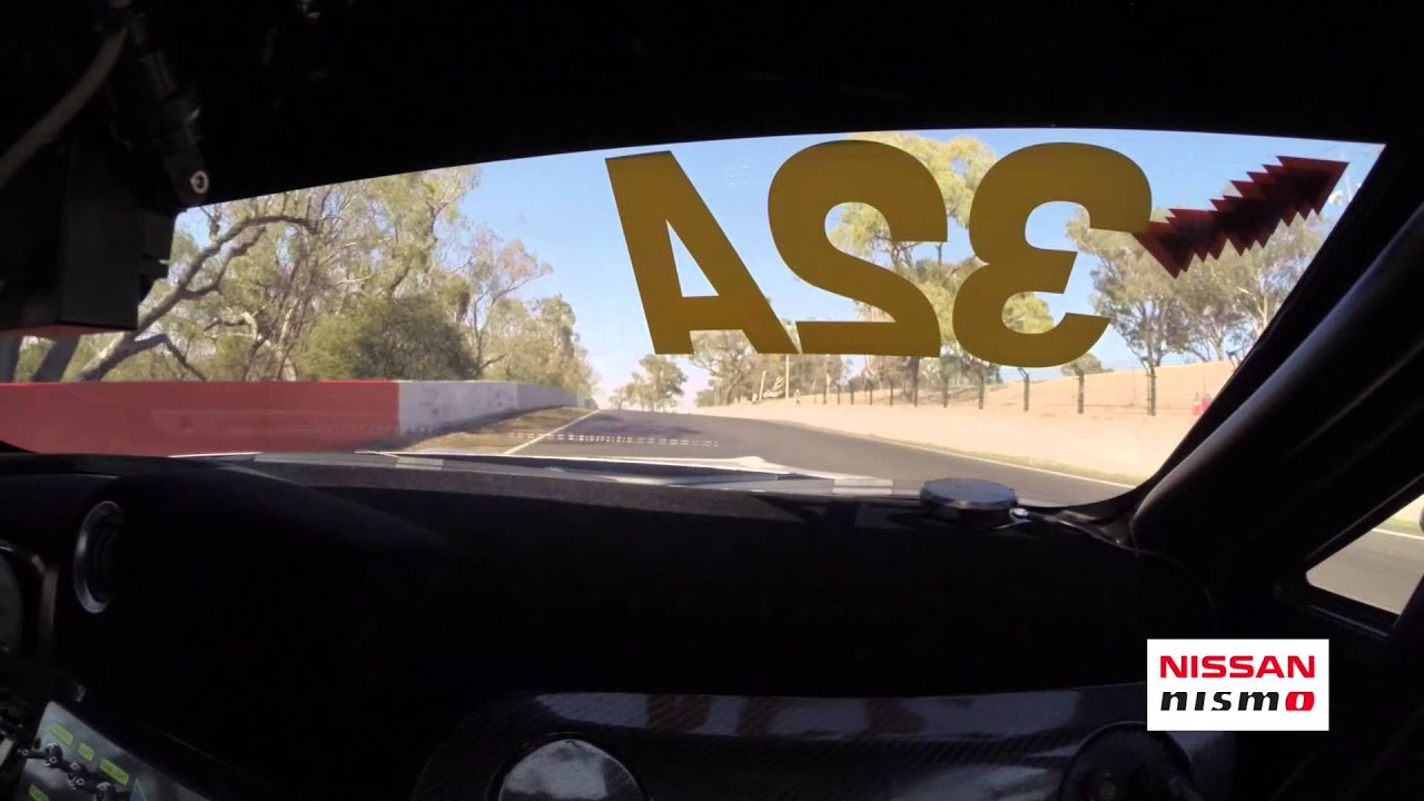 Watch The Nissan GT-R Fly Around Mount Panorama