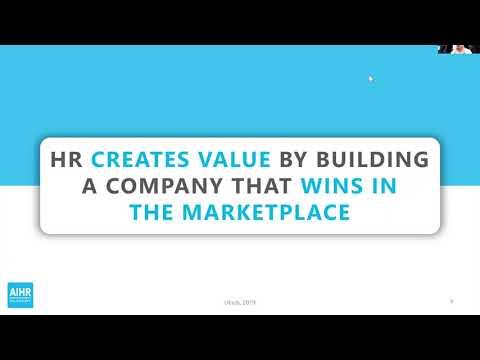 Creating Value Through HR Data & People Analytics | AIHR ...