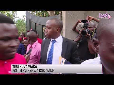 Poliisi esiibye ewa Bobi Wine okumulemesa okutwala ekiwandiiko e Naguru