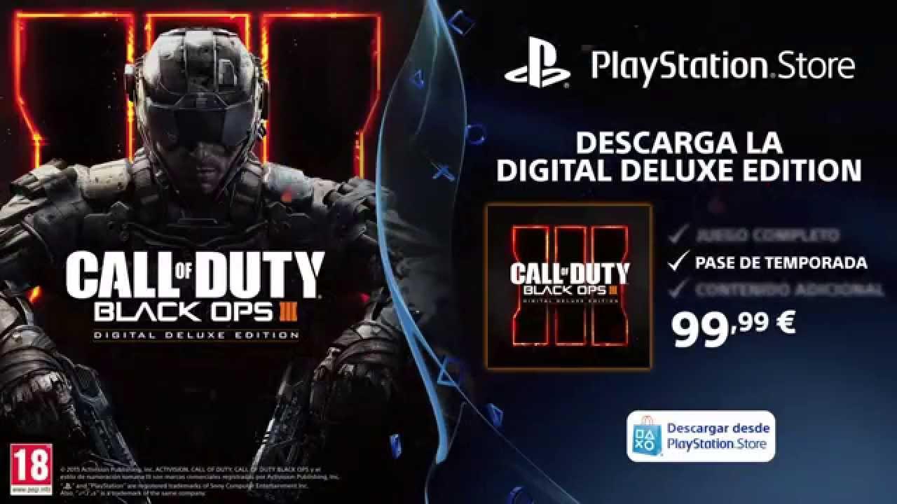 Call of Duty: Black Ops III ya a la venta