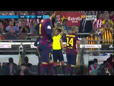 Barcelona 3 - 1 Atletic de Bilbao Copa del Rey - Directv sports