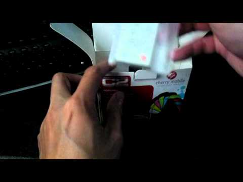 Unboxing Cherry Mobile - Model: C2