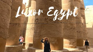LUXOR EGYPT - TOUR Of KARNAK, WINTER PALACE, And LUXOR TEMPLE #travelvlog