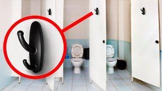 Gdy zobaczysz coś takiego w toalecie publicznej, od razu dzwoń na policję!