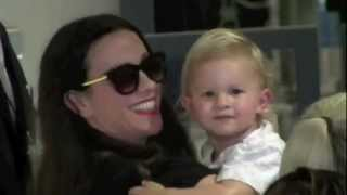 """WATCH: Alanis Morissette and Her Baby Boy """"EVER IMRE"""" Travel to Europe"""