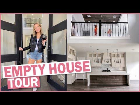 Empty House Tour 2020 | We Built Our Dream Home!