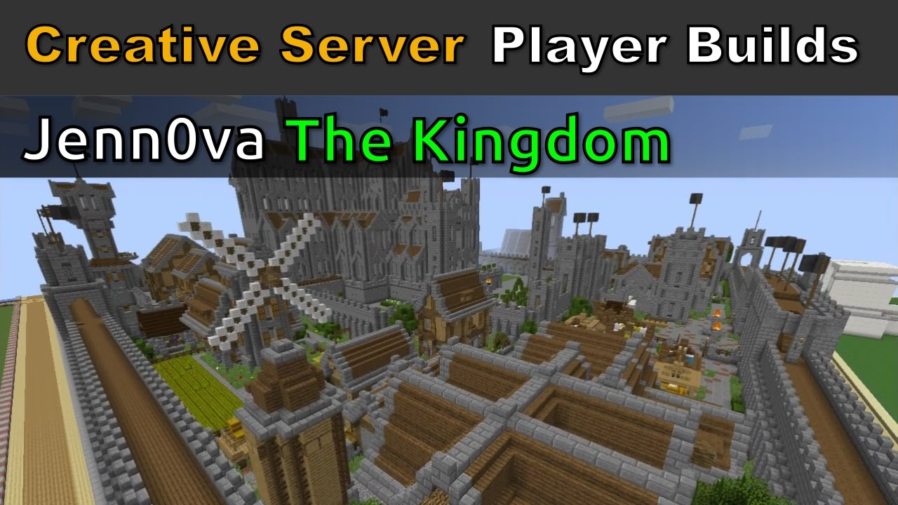 Minecraft Spotlight - Jenn0va, The Kingdom