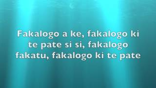 Logo Te Pate Lyric Video | Moana Soundtrack