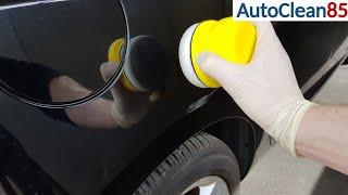 AUTO POLIEREN / Kratzer entfernen mit der Handpolitur / Autolack aufbereiten