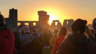 Stonehenge Summer Solstice 2019 - BBC Points West