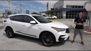 Is the 2021 Acura RDX  A-Spec the BEST compact luxury sport SUV to BUY?