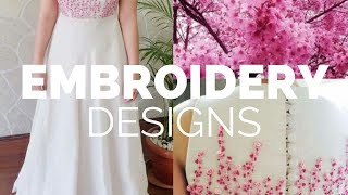 Simple Hand Embroidery Designs Free Download Free Video Search