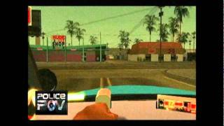 GTA SA Police POV #1 - Seattle Police Pursuit / Shooting