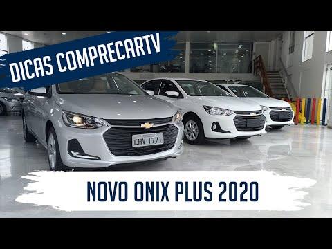 Novo Onix Plus 2020 - Diferenças entre as versões