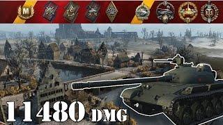 World Of Tanks  Object 140 .. 11480 Dmg