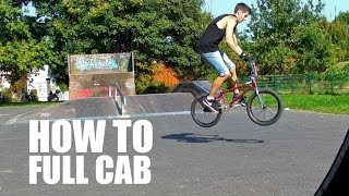 How to full cab BMX (Как сделать фулкаб на БМХ, MTB)  | Школа BMX Online #11