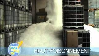 Extinction d'incendie avec la mousse au foisonnement (High Expansion Foam)