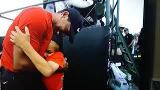 Tiger Woods Celebrates Winning 2019 Masters W/Kids & Mother Girlfriend