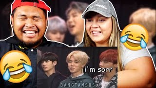 Namjoon being done with BTS- English | COUPLES REACTION | FUNNY