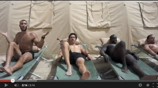 US army in Afghanistan tribute to Call Me Maybe By Carly Rae