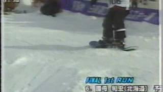 第17回全日本スノーボード選手権ユースHP