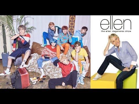 BTS dans le Ellen's 2017 Rewind !