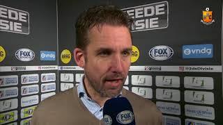 Reactie Gert Jan Karsten na Kozakken Boys - HHC Hardenberg