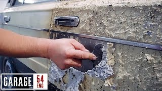 Stripping the paint from a Lada – for what purpose?