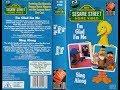 Download Video Sesame Street - I'm Glad I'm Me and Sing Along (1987, UK VHS)