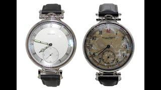 Марьяж механических карманных часов Молния 3602 в наручные