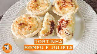 #62 - Como Fazer Tortinha de Romeu e Julieta