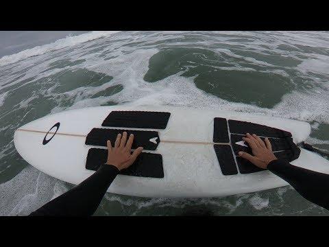 SURFING MY FIRST FISH