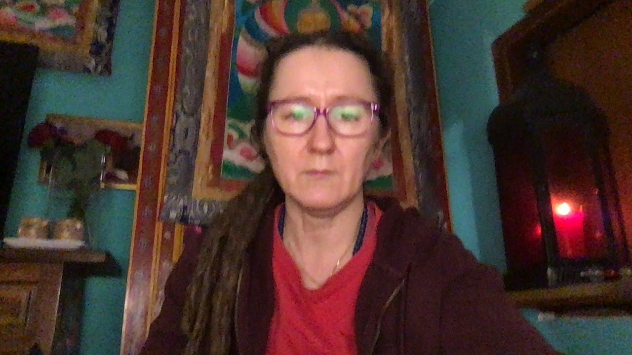 Lama Gangchen Tantric Self-Healing 2- Commentary by Lama Caroline - part 19  (EN)