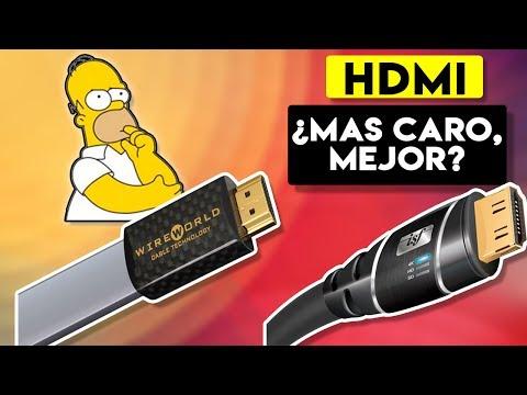 Cables HDMI y Displayport, ¿¿Mas caro es mejor??