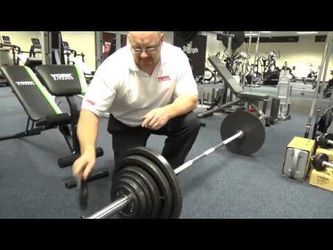 York 140kg Cast Iron Olympic Set