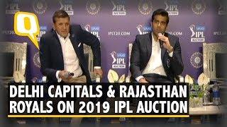IPL Auction 2019: Delhi Capitals & Rajasthan Royals Discuss Their Squads | The Quint