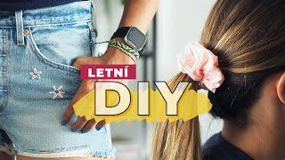 DIY | Náramky přátelství, vyšívání a gumička do vlasů!